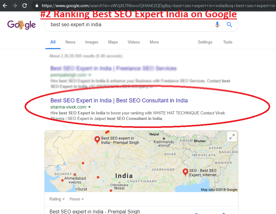 best seo expert india