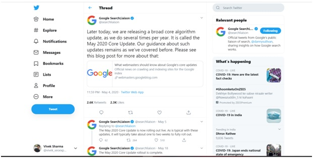 google core update